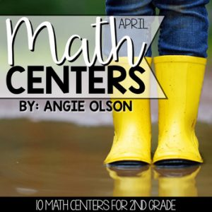 April Math Centers and Activities for 2nd Grade1