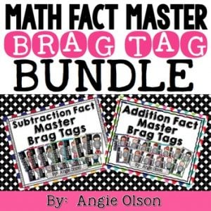 BRAG TAG BUNDLE (Addition & Subtraction Math Fact Master)-1