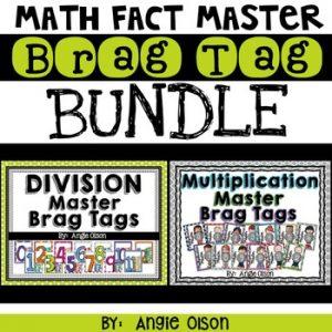 BRAG TAG BUNDLE (Multiplication & Division Math Fact Master)-1