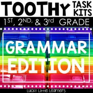 Grammar Toothy™ Task Kits