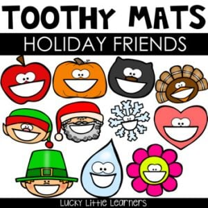 Holiday Toothy™ Mats