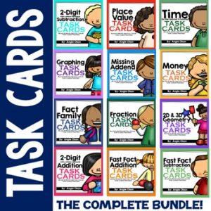 Math Task Card Bundle-1
