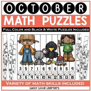 October Math Puzzles-1
