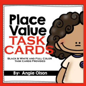 Place Value Task Cards-1