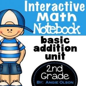 Addition Second Grade Math Notebook-1