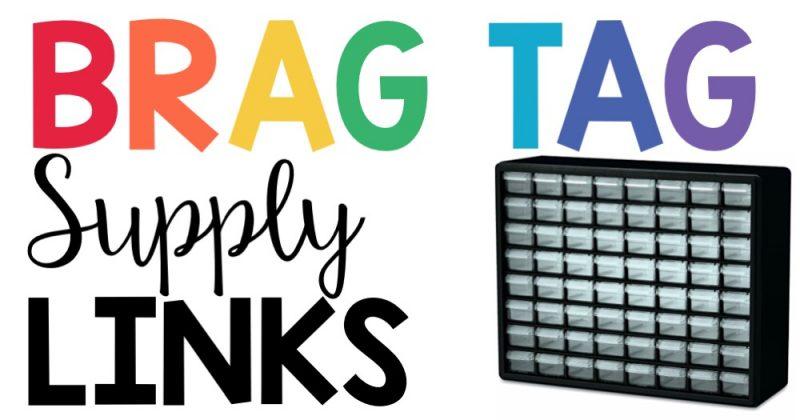 Brag Tag Supply Links