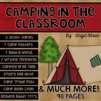 Camping in the Classroom Pack-1
