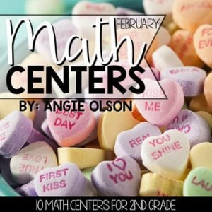 February Math Centers & Activities for 2nd Grade-1