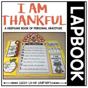 I Am Thankful For Lapbook-1