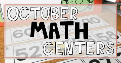 October Math Centers