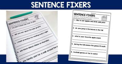Sentence Fixers