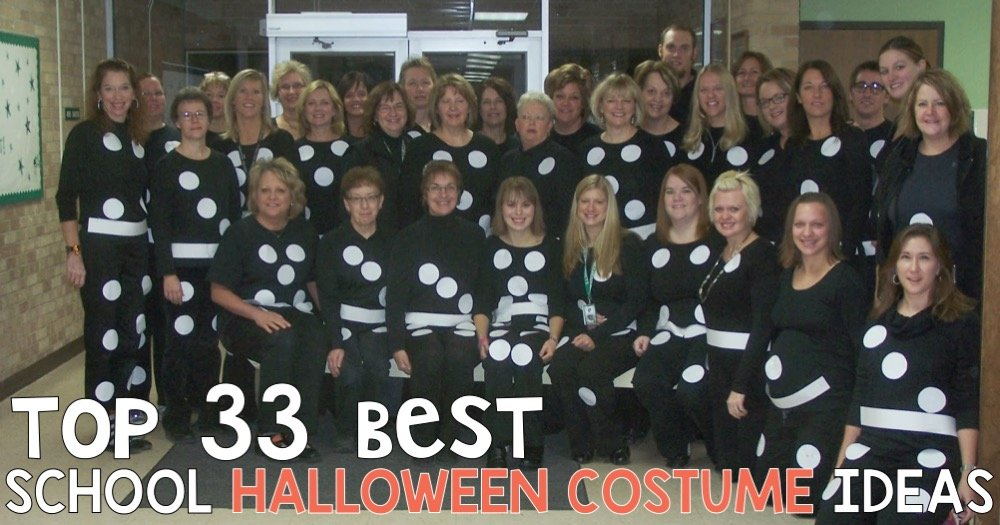 Top 33 Best School Halloween Costume Ideas