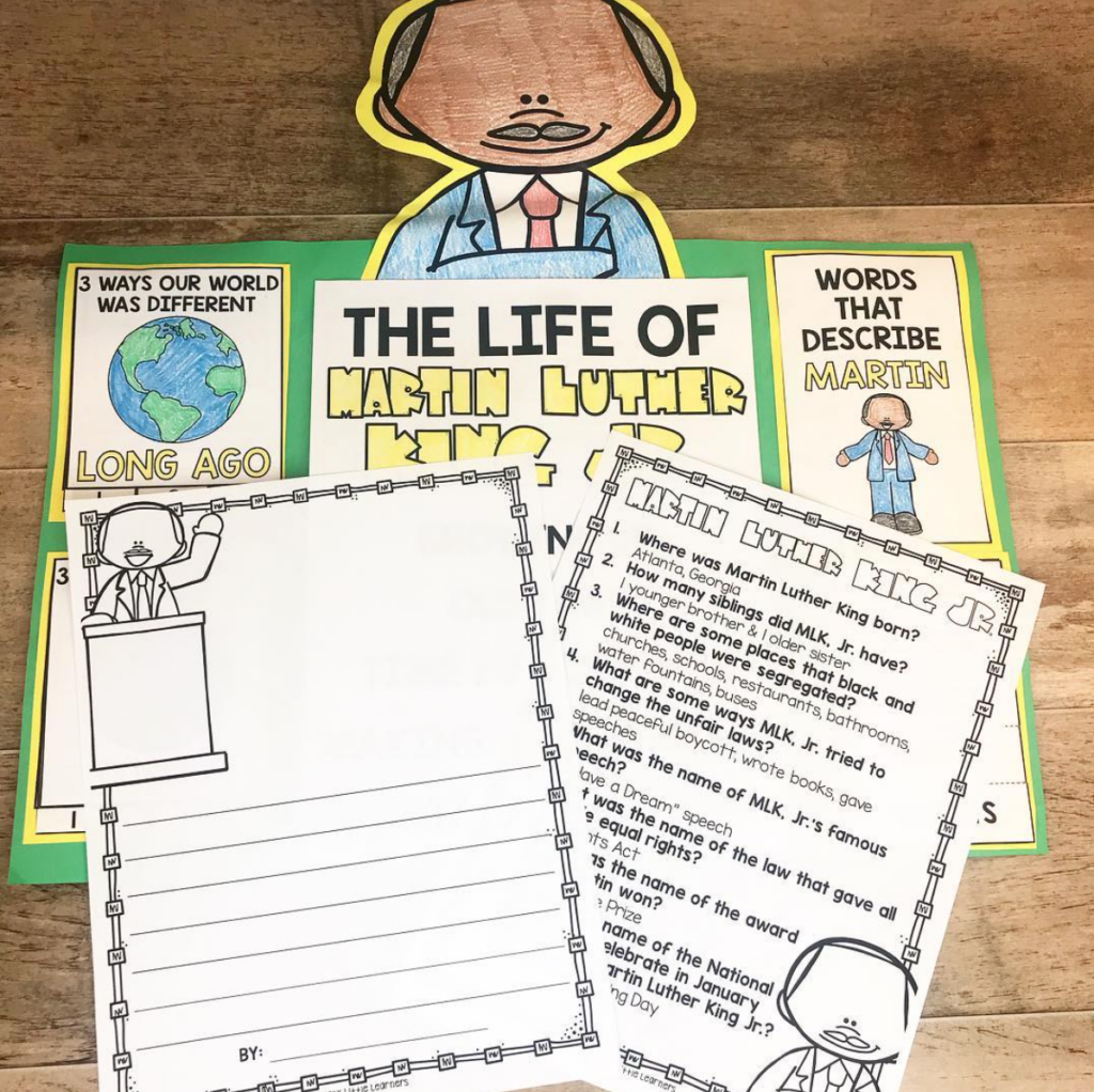 Martin Luther King Jr. Activities and Videos
