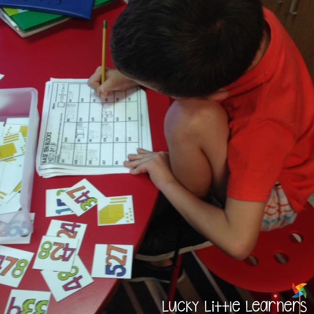 Do you use math centers in your classroom? Math centers can be a great way to differentiate your instruction, provide a hands on learning environment, and meet students where they are at (below, on, and above grade level) all while making learning fun and purposeful. If you teach 1st grade or 2nd grade, this is a must have resource of information and helpful tips and tricks all about math centers organization, set up, launching, and more!