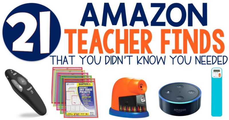 21 Amazon Teacher Finds