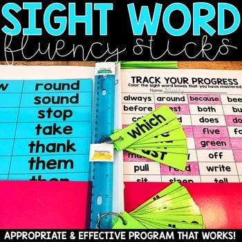 Sight Word Fluency Sticks1