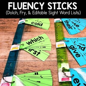 Sight Word Fluency Sticks2