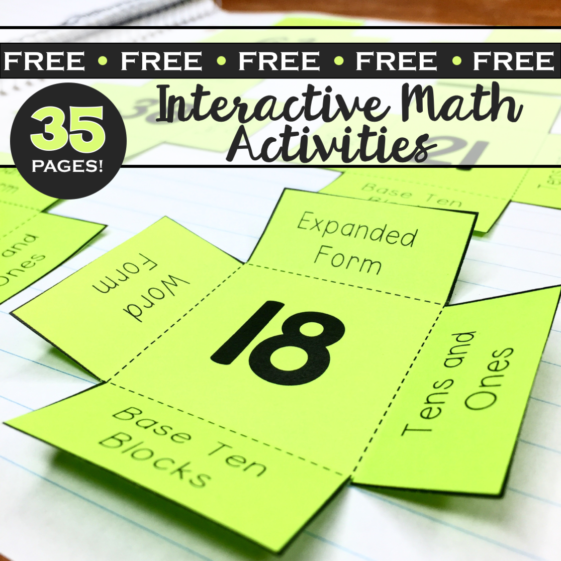 Interactive math activities - Lucky Little Learners