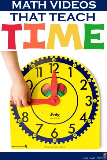 Teaching time does not have to be hard!  Introduce concepts such as time to the hour, time to the half hour, time to the nearest 5 minutes, and much more through the use of math videos.  We have put together a list of fun, appropriate, and informative math videos that will help your students understand telling time.  Enjoy!
