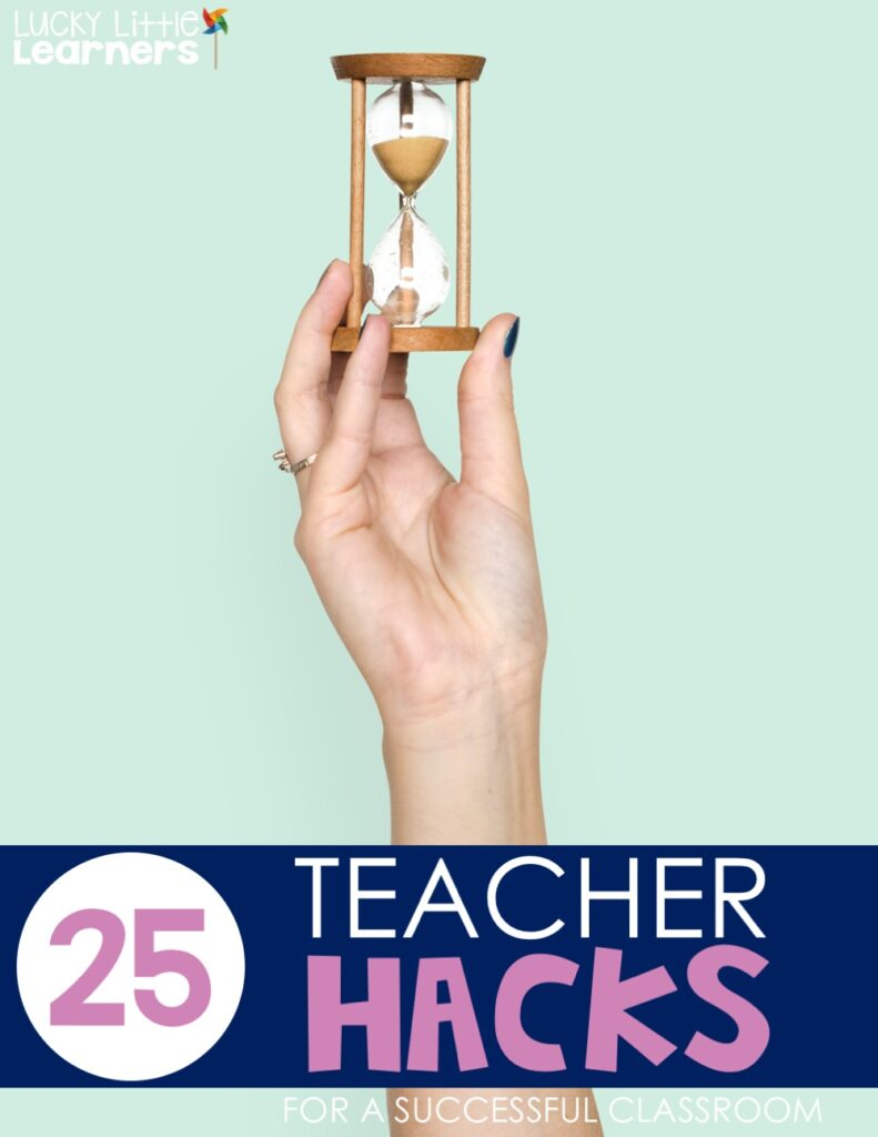 Sand timer is a great teacher hack tool. It is effective to get your students to be more productive. Everybody wants the power that comes with being the sand timer holder!