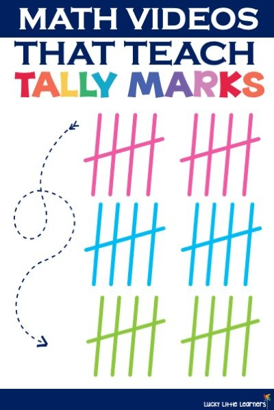Tally marks are taught to students as a way to collect data totals as well as keeping track of scores.  Young students who are learning how to make tally marks would benefit from this collection of videos.  Tally marks are also great practice when it comes to subitizing. #kindergarten #1stgrade #elementarymath #tallymarks