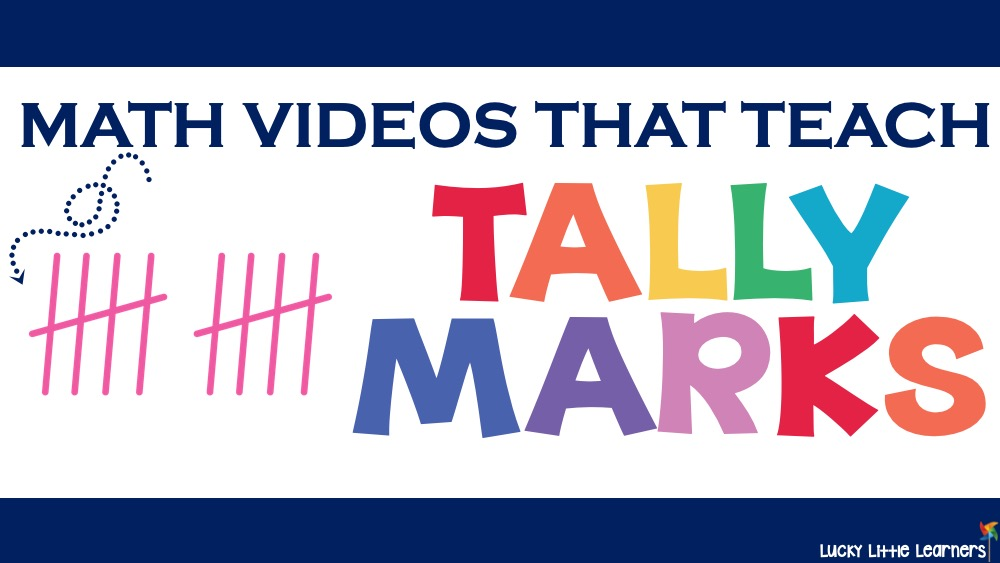 Videos that Teach Tally Marks