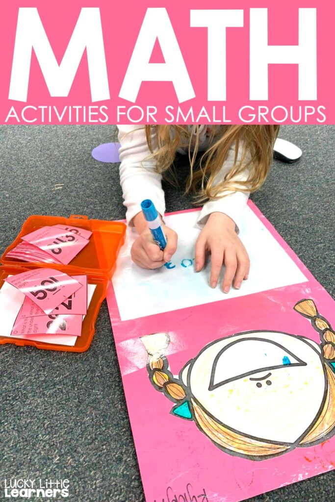 "One of the things teachers often struggle with is the idea of teaching small groups.  Even if a teacher knows exactly what to do within the groups, there is the lingering question of ""What are the other students doing while I am meeting with small groups?"".  This is where ""Must-dos and May-dos"" come into play. #1stgrade #2ndgrade #mathcenters #daily5"