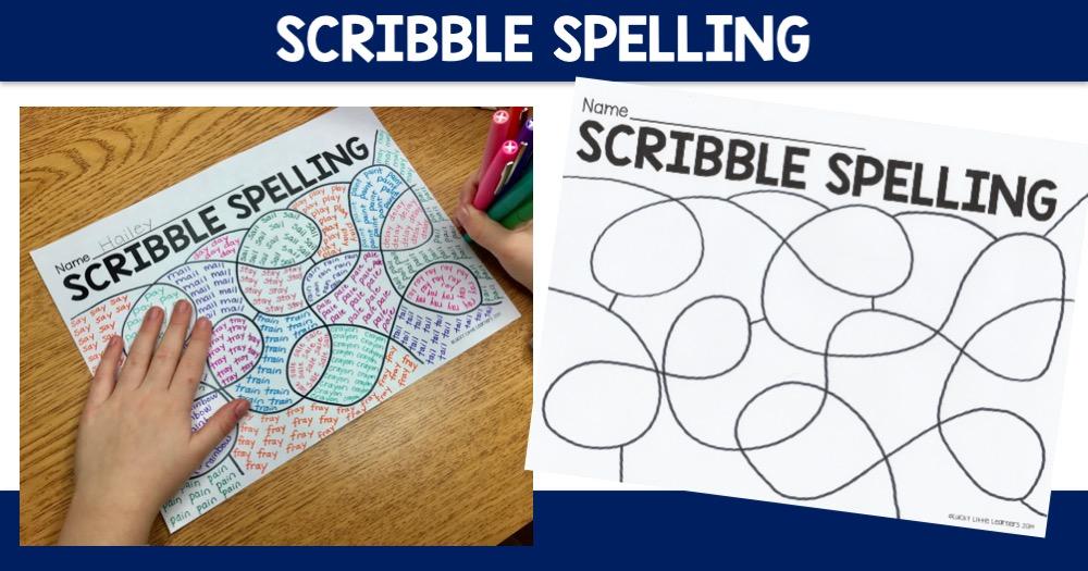 Scribble Spelling