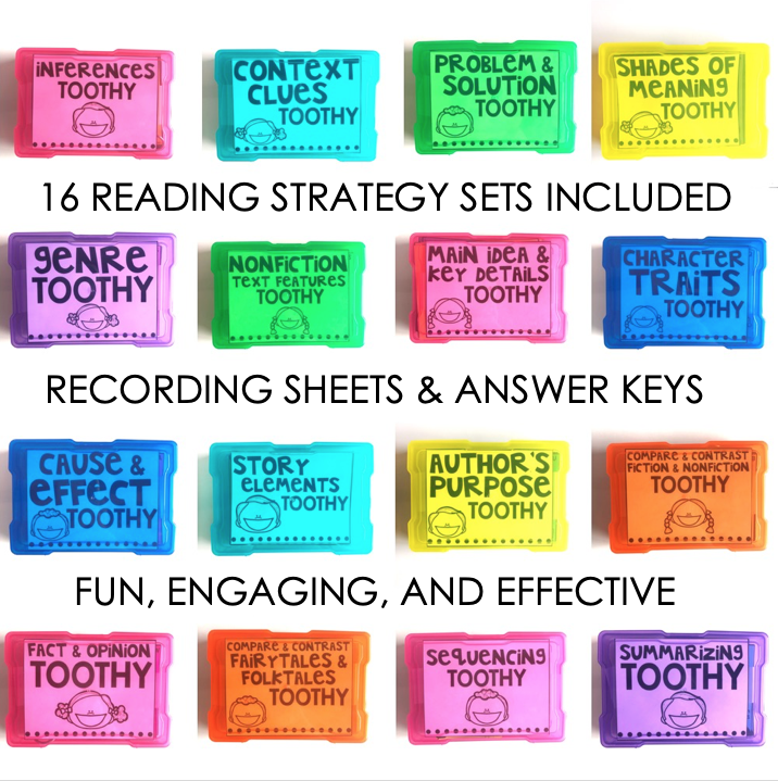 Your students will receive all the practice they need to practice their reading skills through the use of these Reading Task Cards! There are a total of 360 passages, short stories, and scenarios included in this bundle. All of these are written with a 2nd grade text complexity level. The answers on the back of the cards allow for these activities to be self-paced and self-correcting. #2ndgrade