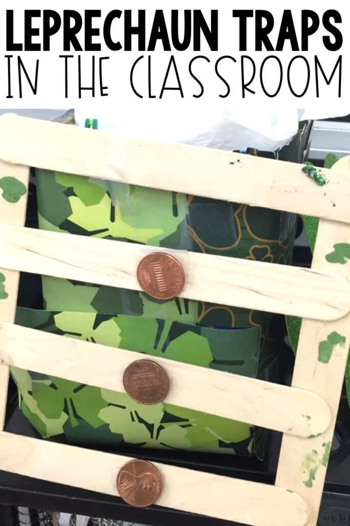 It's March which means it's time to start thinking about some leprechaun fun! In my classroom we've built leprechaun traps. I am going to walk you through what we do on the day of the actual building of these traps.  Freebie included! #leprechauntraps #stpatricksday #stem #steam