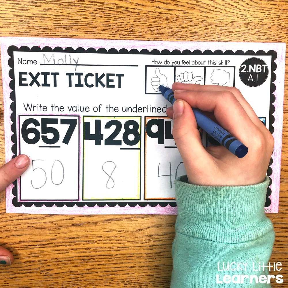 Exit tickets are a snapshot for the teacher to gain quick understanding of exactly where each student is at when it comes to mastery of a skill.  Exit tickets are a great tool to use to determine the pathway of instruction.  They can also be used to help group students into flexible groups. #1stgrade #2ndgrade #3rdgrade #exittickets
