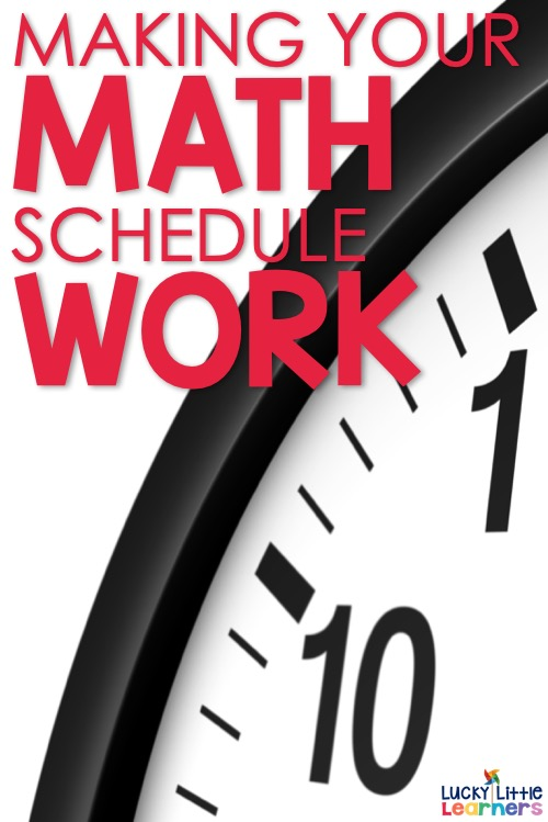 Let's talk about the math schedule. The key focus when planning a math block is that the schedule and time is consistent. The example given below shows a 75 minute math block. #1stgrade #2ndgrade #mathcenters