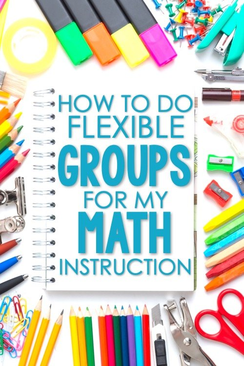 Math center groups need to be flexible groups.  Once a student has been placed in a group, this does not determine their ability level in math for the rest of the year.  In fact, teachers should be looking at the data and moving students around regularly.