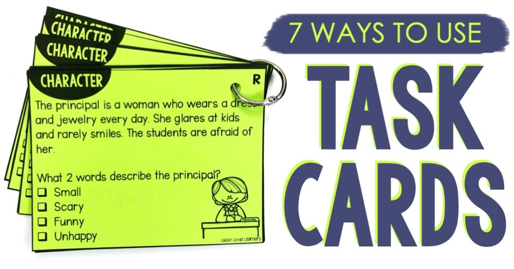 7 Ways to Use Task Cards