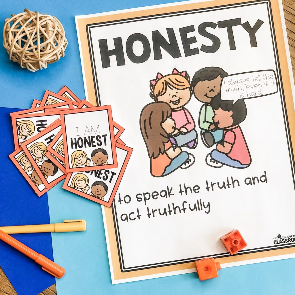 Let's be honest. Teaching students how to tell the truth isn't as easy as it sounds. Honesty is more than just avoiding lying. Honesty also includes integrity and using open communication at home and school. These are definitely skills students need to practice from an early age. #SEL