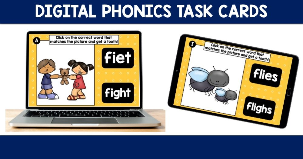 Digital Phonics Task Cards