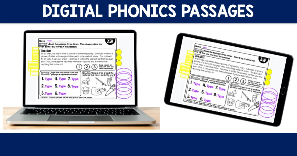 Digital Phonics Passages