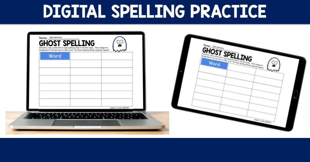 Digital Spelling Practice