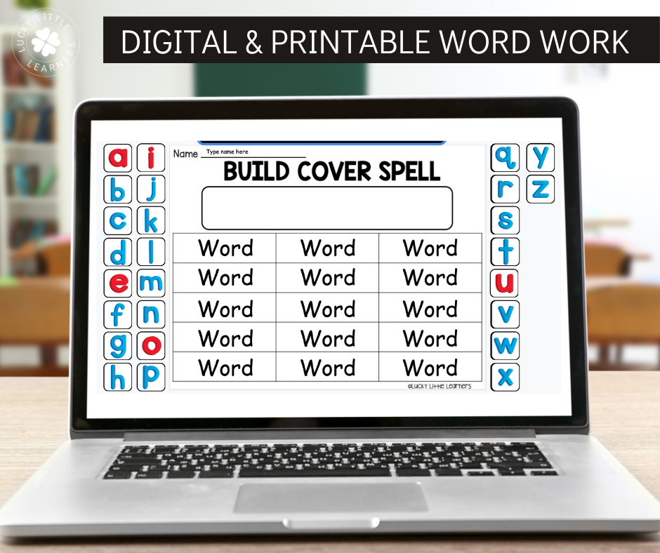 Do you find yourself looking for ways to spice up your word work stations and/or spelling practice in your classroom? Better yet...are you looking for ways to do this WITHOUT having to prep ANYTHING?   Spelling Activities are now available in both printable and digital form in this pack! The digital form is compatible with Google Classroom using Google Slides.
