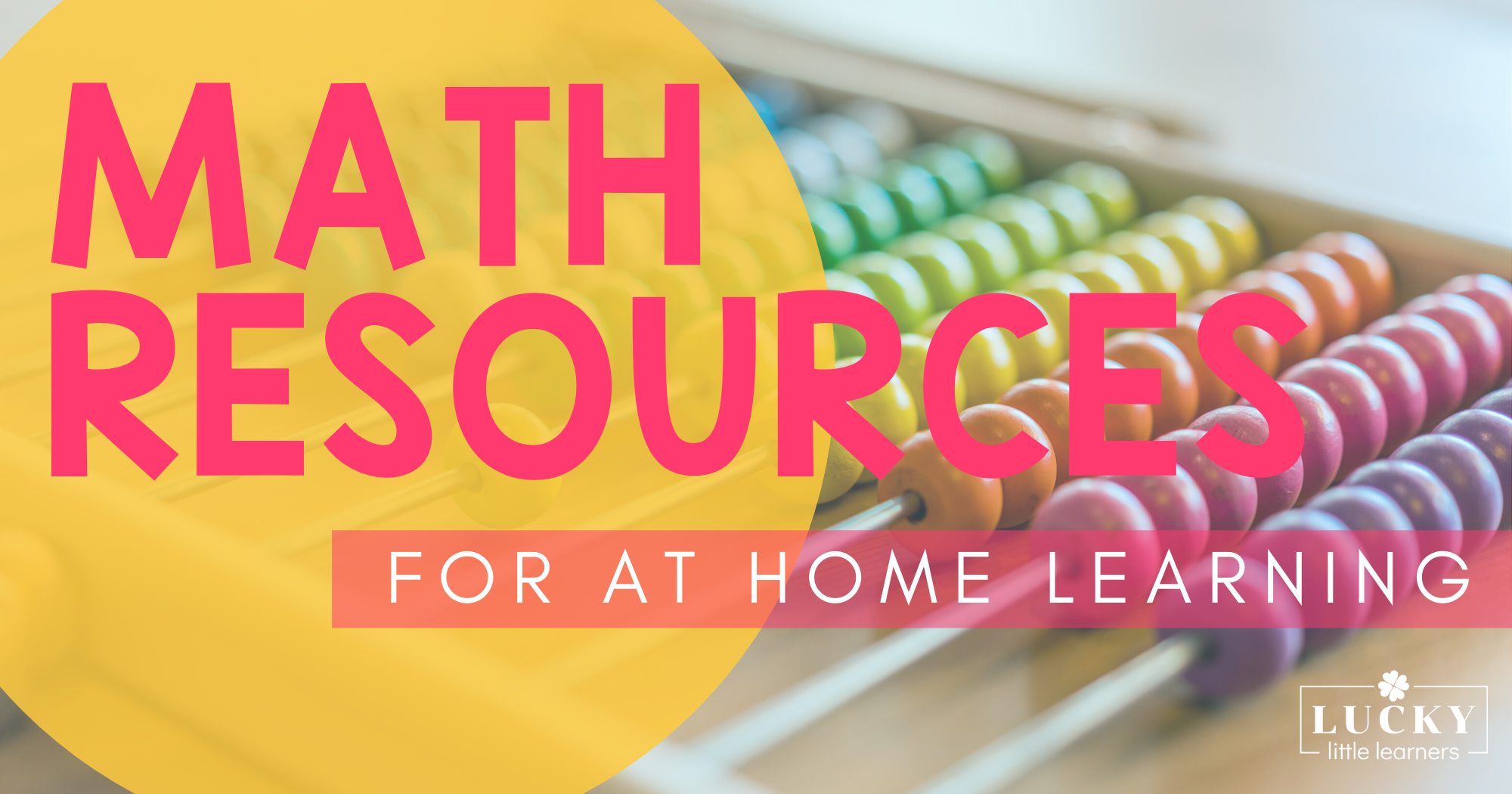 Math Resources for At-Home Learning