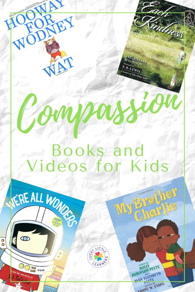 Compassion is an essential social emotional skill for kids to learn and develop early. Knowing how your actions and words can directly impact someone else is something that is so important for children to grasp at a young age. Compassion is a life-long ability for treating others with the kindness and empathy that you would like to be treated. This post has an array of books and videos that will help to teach your kiddos all about how to be compassionate to others.
