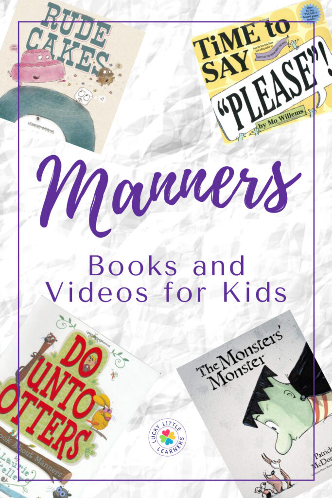Do you feel like getting your students to say please and thank you is an impossible task? Well, these books and videos are here to help with that! Each of the following resources is focused one teaching little ones to use good manners in their daily lives, making your life a little bit easier.