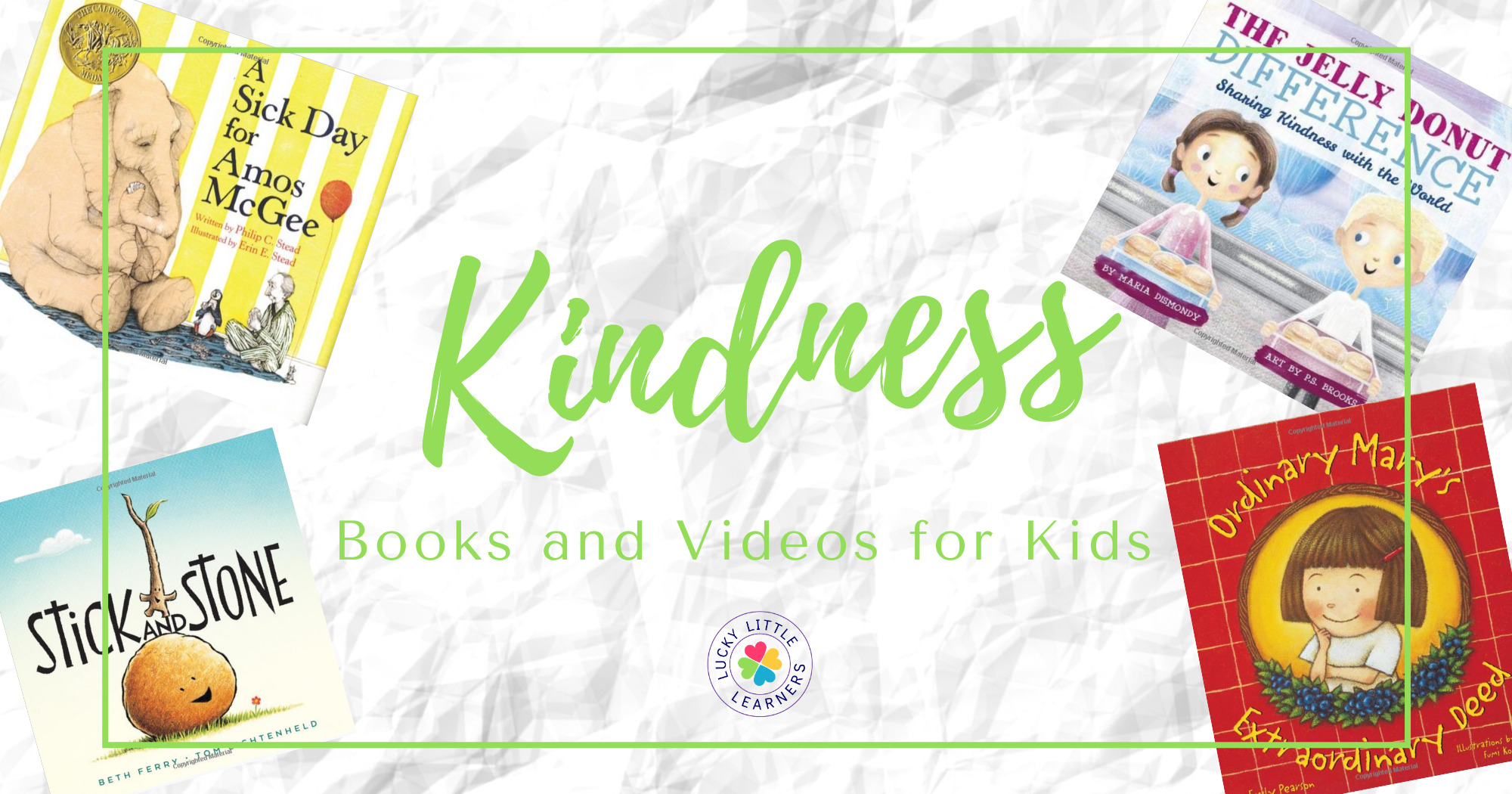 Must-Have Children's Books and Videos About Kindness
