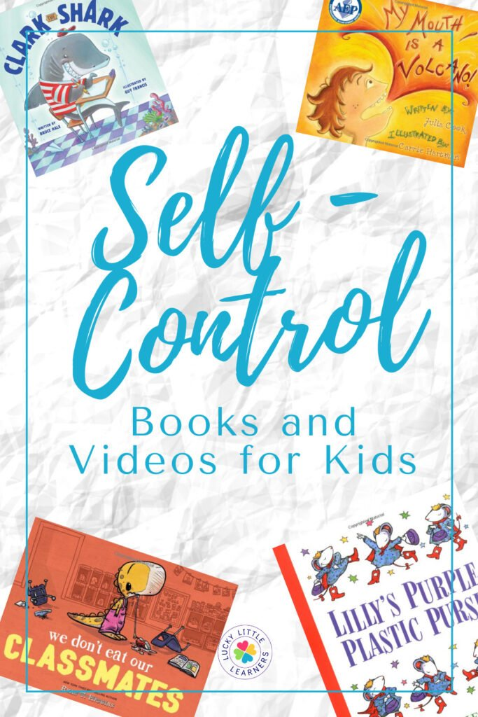 books and activities to use when teaching self control