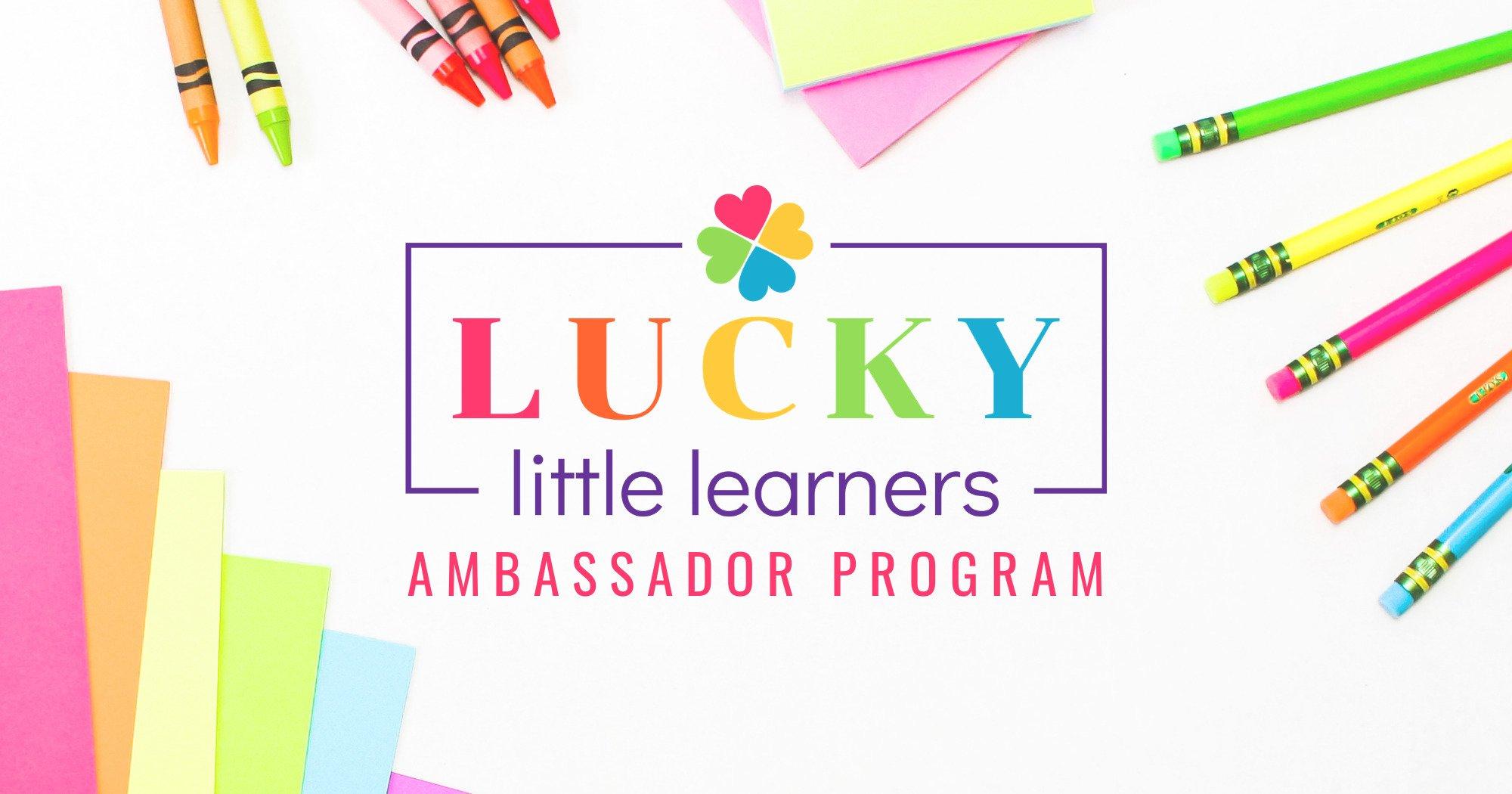 Lucky Little Learners Brand Ambassador Program