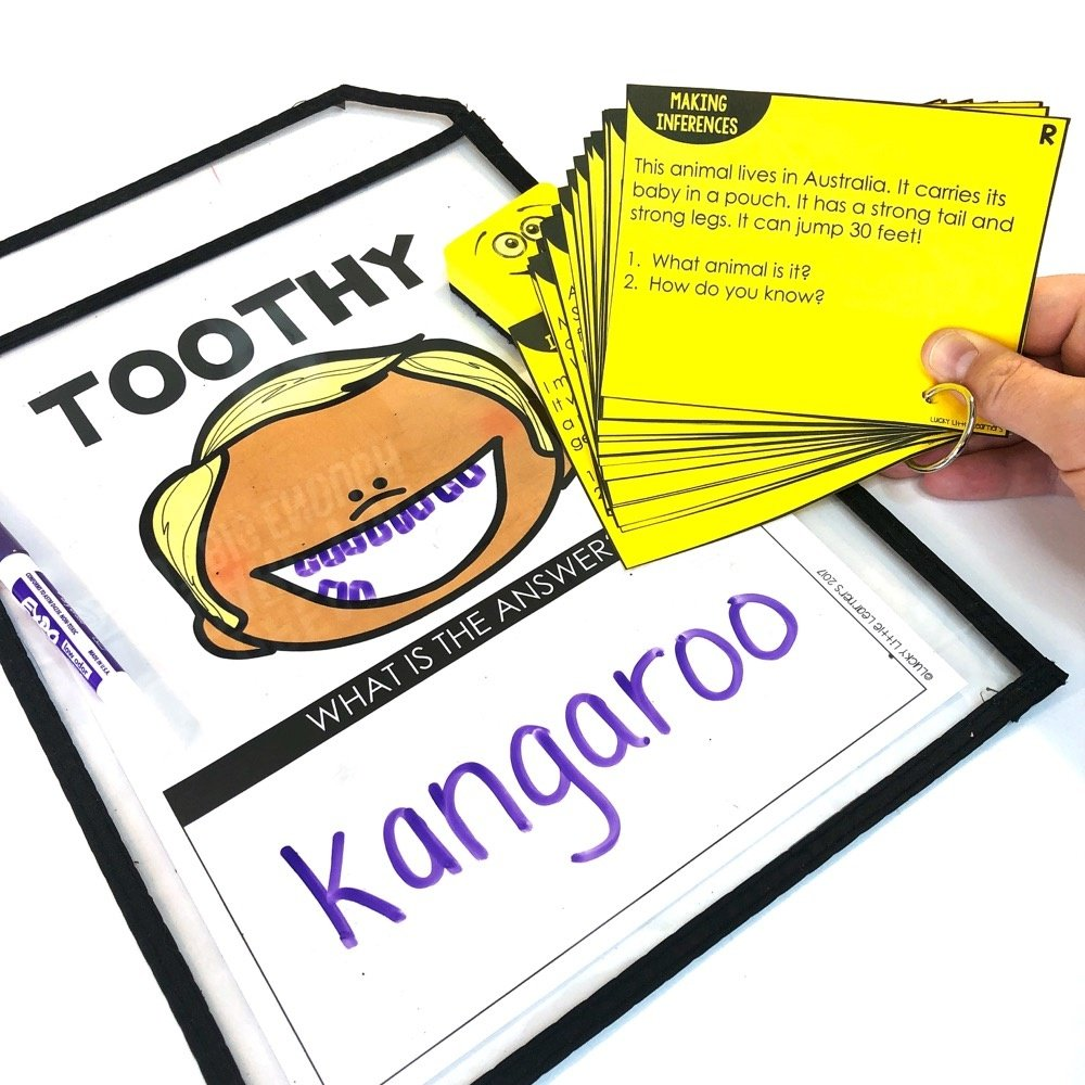Reading task cards for 1st grade, 2nd grade, and 3rd grade are a great way for students to practice their fluency and comprehension skills. These reading activities can be used both in the classroom or while distance learning.