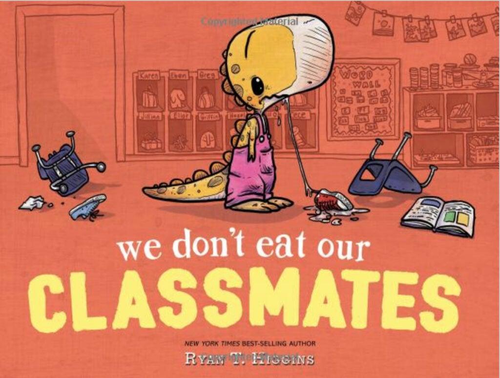 we dont eat our classmates self control read aloud