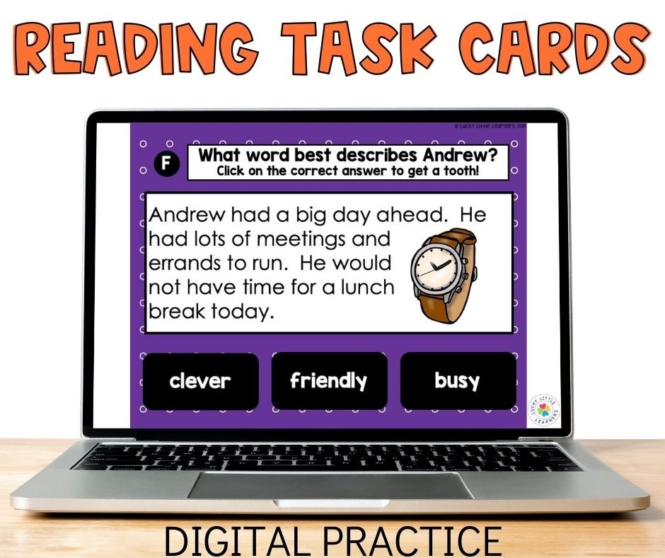 Need some digital reading passages to help your 2nd graders this year while distance learning?  These remote learning reading group activities can be the perfect option!