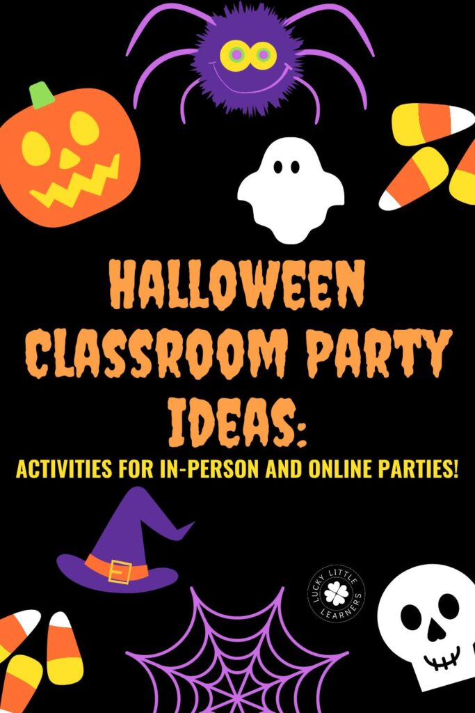 It's October and that means the spooky season has arrived! Whether you are teaching online or in-person, it's time to decide - how are you going to celebrate this fun fall season with your students?