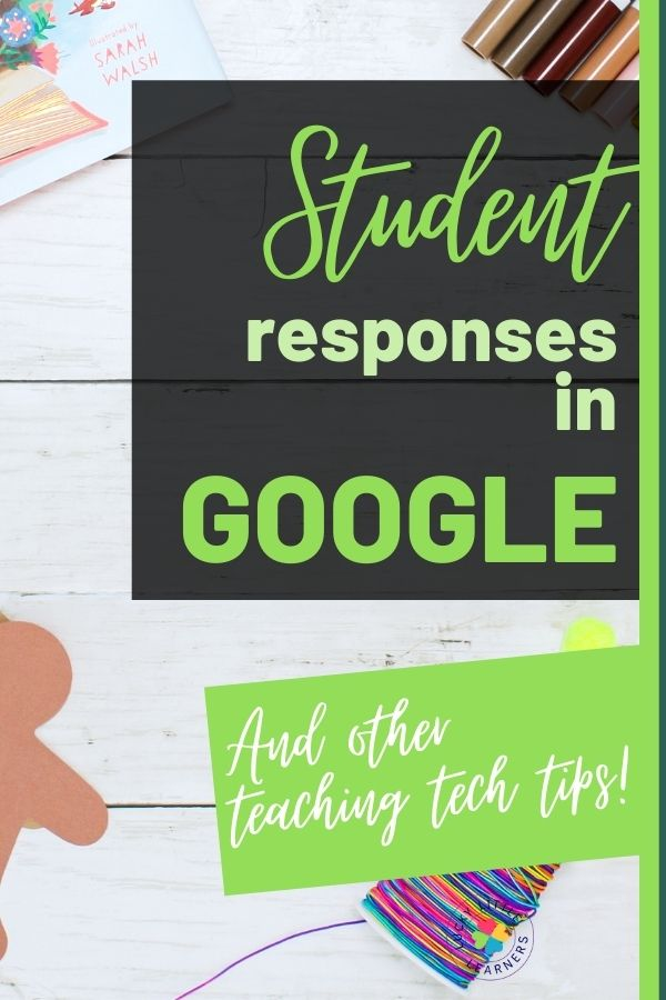 Google forms are a GREAT way to interact with students during distance learning or just when using technology in the school setting. They are a quick way to assess student knowledge. The best part of Google Forms? Seeing the student's responses! Read & watch below to learn how to see student responses (both as individual and group responses), correct their work and download the responses as a spreadsheet.